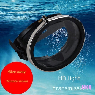 EO HD Waterproof Tempered Glass Stainless Diving Goggles Fisherman Swimming Goggles