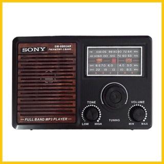Đài radio FM-AM-usb-thẻ nhớ 888