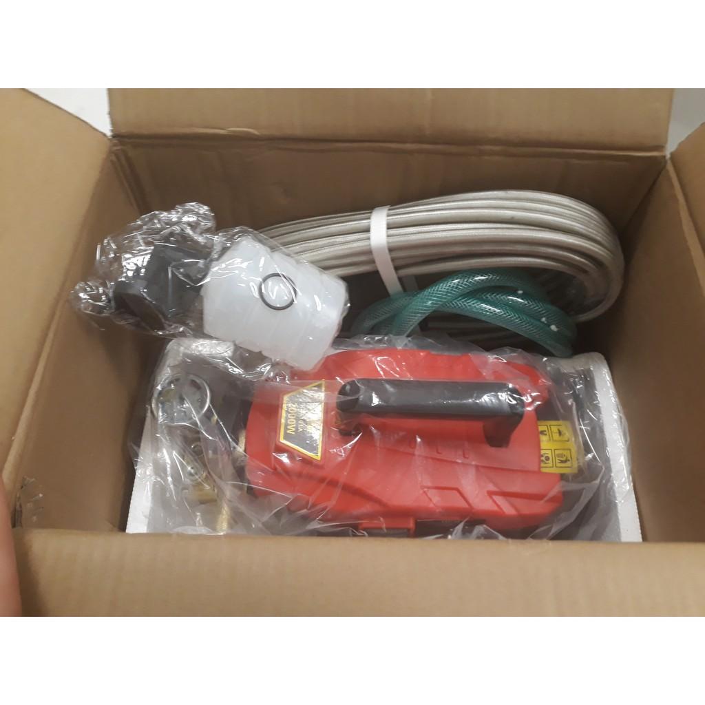 Máy Rửa Xe HPM-HD 101A ,Rửa Xe Máy Ô Tô Tại Nhà, Gara ( tặng Súng xịt và dây nước)