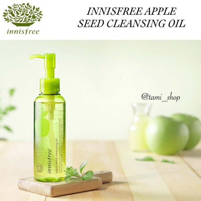 Tẩy trang Innisfree APPLE JUICY CLEANSING OIL _my pham chinh hang
