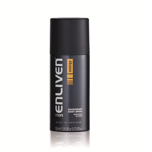 Xịt khử mùi dành cho nam Enliven Men Deo Spray - Energy