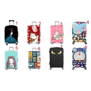 Vỏ bọc bảo vệ vali co giãn chống nước, chống xước dễ nhận biết vali