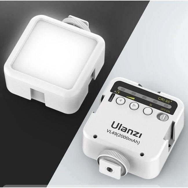Đèn Led quay phim Ulanzi VL49 phiên bản mới – tích hợp pin Lithium 2000mAh