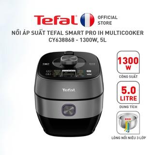 [Mã 157ELSALE1 giảm 5% đơn 3TR] Nồi áp suất Tefal Smart Pro IH Multicooker CY638868 - 1300W, 5L thumbnail