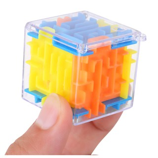 3D Magic Cube Magical Maze Labyrinth Rolling Toys Learning Puzzle Maze Ball For Kid Children Toy Gift