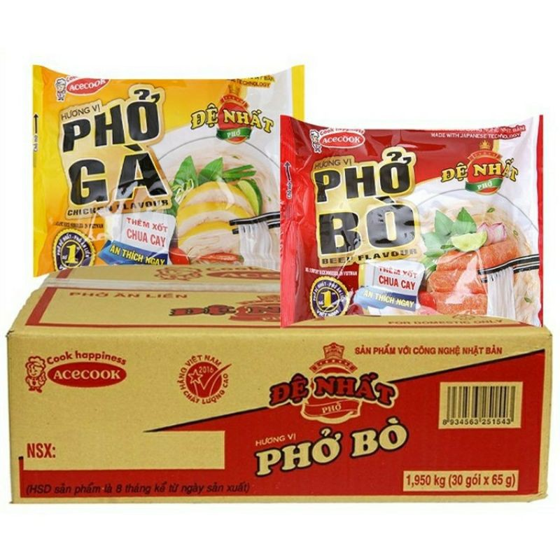 phở acecook 65g