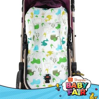 Đệm lót họa tiết hoạt hình dễ thương dành cho ghế xe đẩy em bé thumbnail