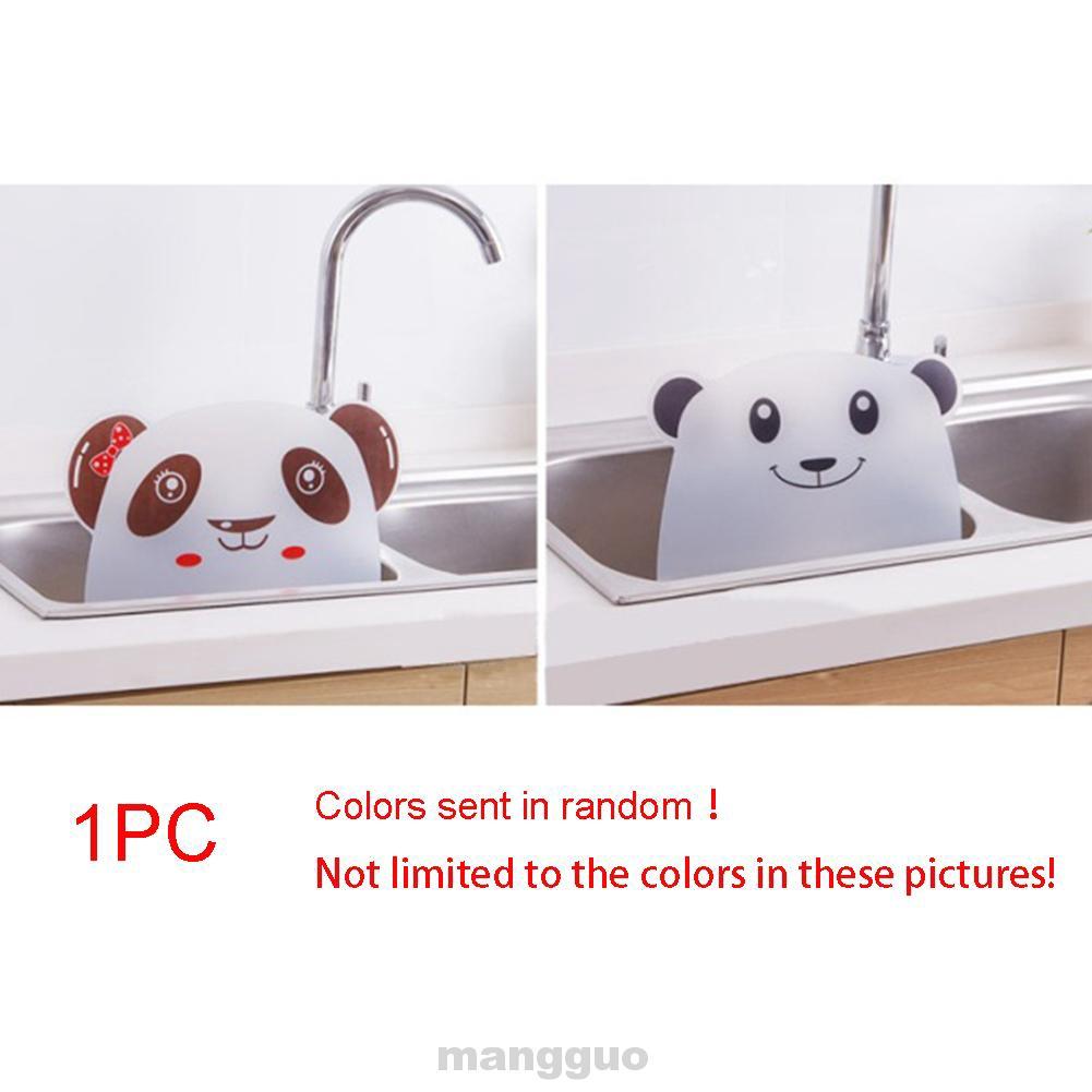 Household Plastic Translucent KitchenTool Sink Splash Proof Retaining Plate
