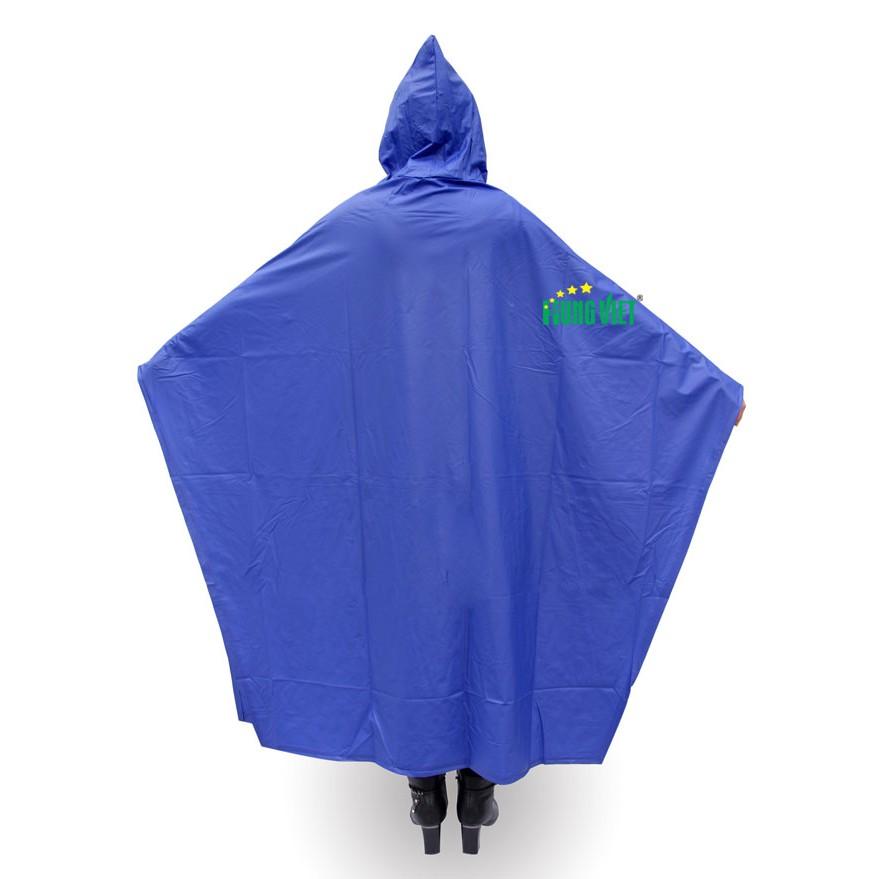 Áo mưa cánh dơi PVC Hưng Việt chống thấm tuyệt đối