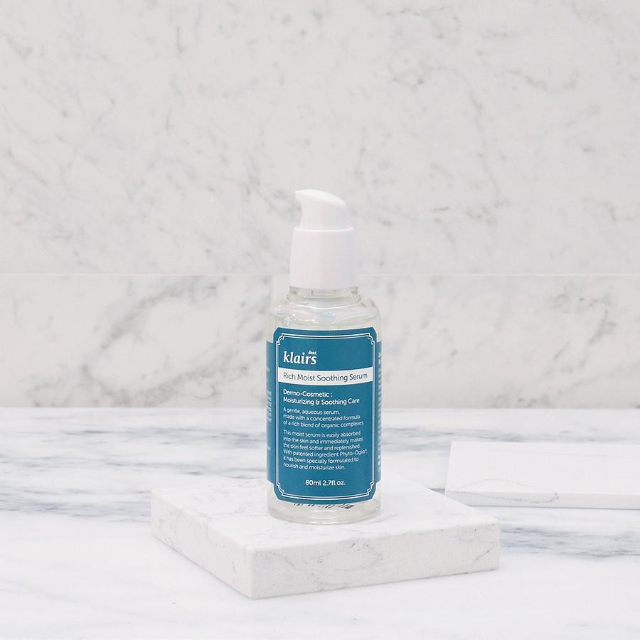 Kết quả hình ảnh cho klairs rich moist soothing serum