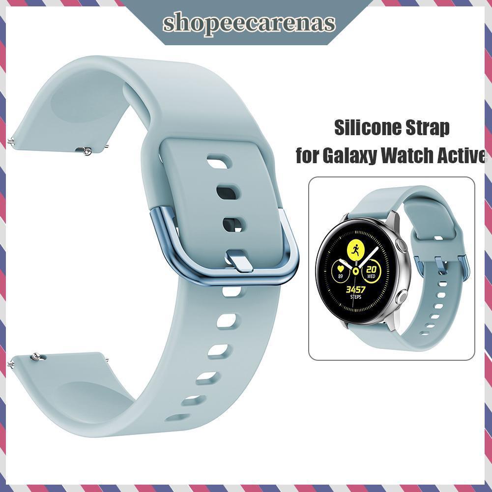 Dây Đeo Silicon Thay Thế Cho Đồng Hồ Thông Minh Samsung Galaxy Active 20mm