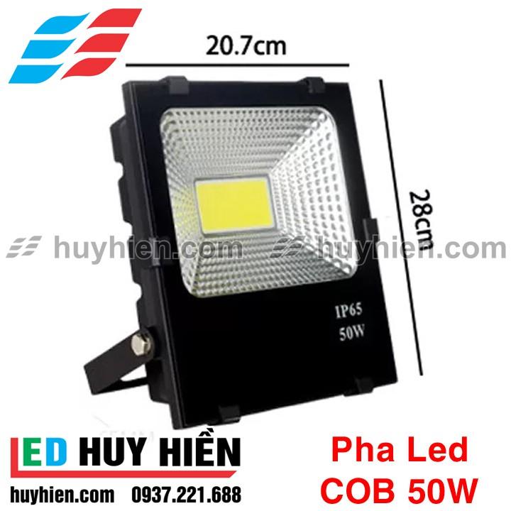 Đèn led pha 50W COB chất lượng, bảo hành 12T, giá cạnh tranh
