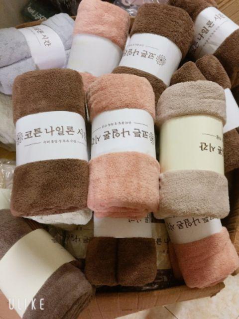 Khăn tắm xuất Hàn siêu mềm mịn cho cả gia đình, spa