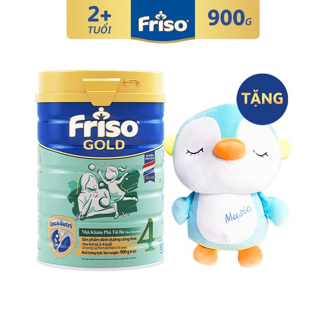 [Độc Quyền Shopee - Tặng Chim Cánh Cụt Nhồi Bông] Sữa Bột FRISO GOLD 4 900g