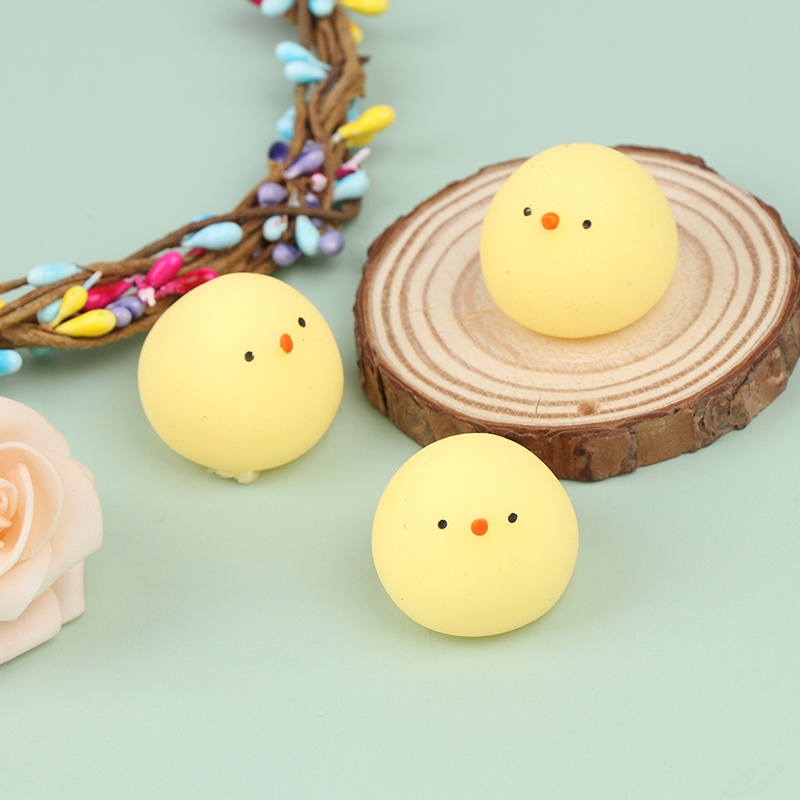 [just] Funny Cute Anti-stress TPR Toys Lovely Soft Silicone Hand Squeeze Animals Toy