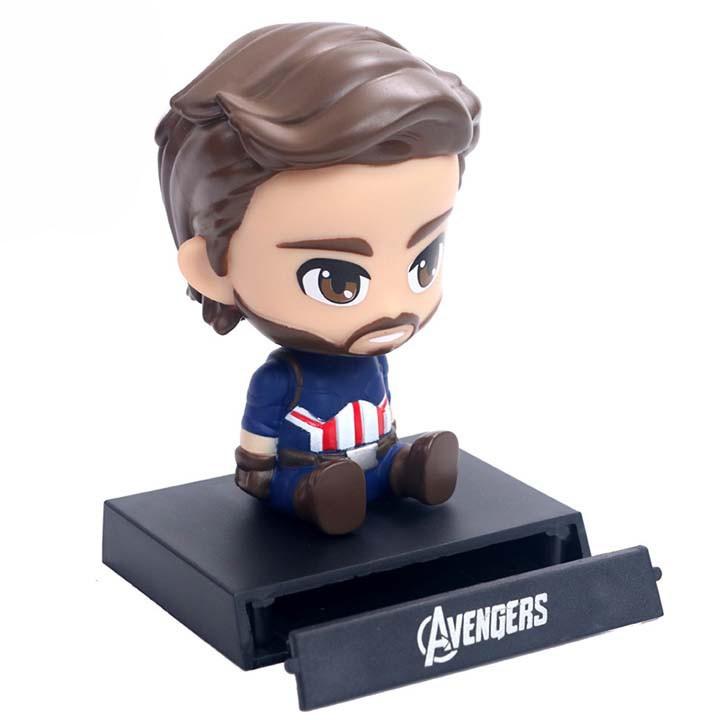 Mô hình Captain America Lắc Đầu