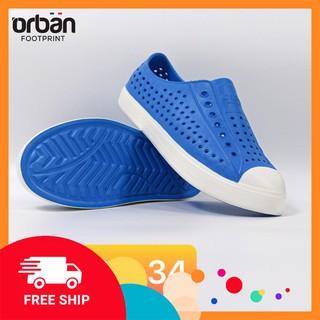 [Hàng cao cấp] Giày trẻ em bằng nhựa mềm đi học, đi chơi