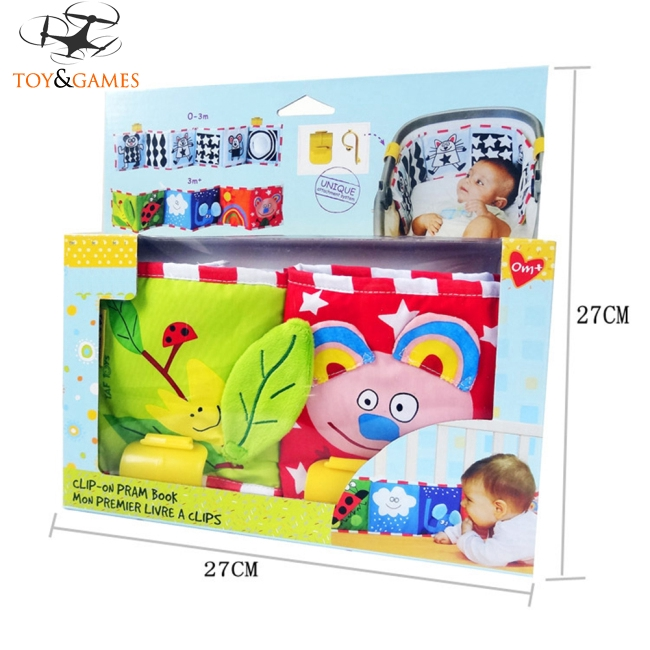 Baby Multifunction Crib Bumper Baby Early Learning Cloth Book Puzzle Educational Toy