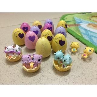 Trứng Hatchimal sinh đôi