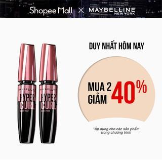 Bộ đôi Mascara Cong Mi Hyper Curl 18.4ml Maybelline New York