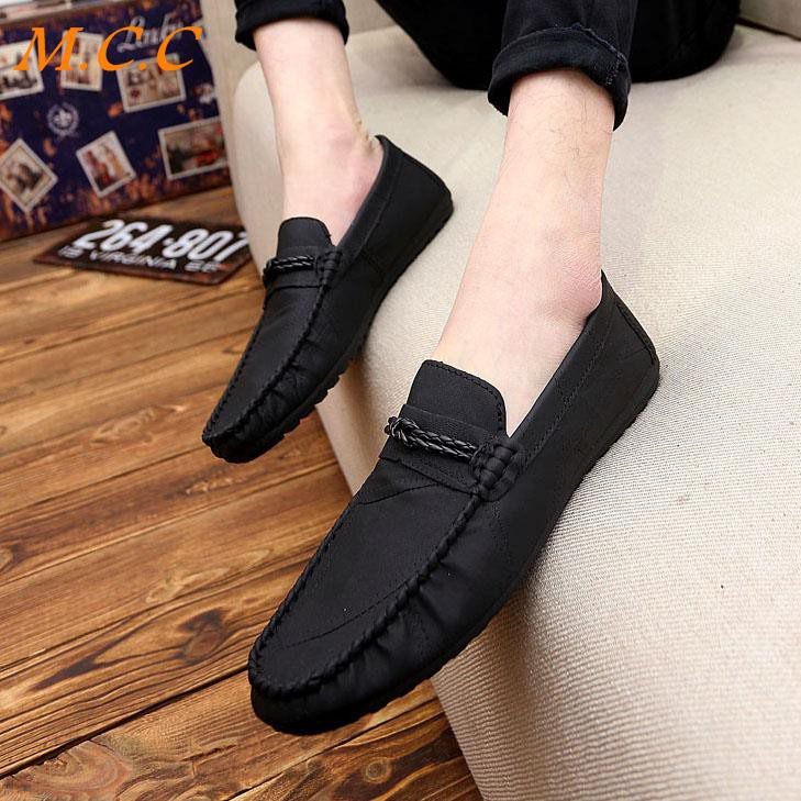 Summer social men's shoes British style men's casual shoes Korean version of the trend of a pedal a lazy beanie tide sho