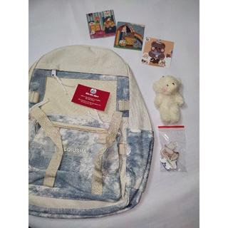 Balo loang xinh đi học dành cho học sinh vừa sách vở, laptop B280 ( sẵn xanh)