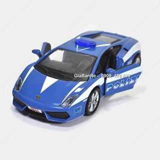 MS: 9743 – XE MÔ HÌNH TỈ LỆ 1:32 – LAMBO GALLARDO POLICE – BBURAGO