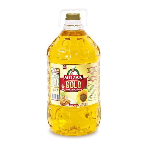[Mã GRO1WM05 giảm 10% đơn 200K] Dầu ăn Meizan Gold 5L