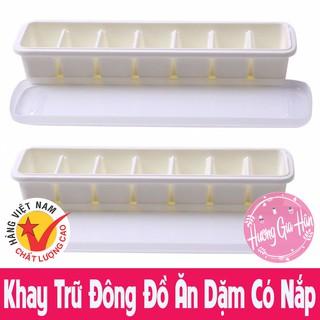 Khay Trữ Đông Đồ Ăn Dặm 7 Ô Có Nắp Đậy, Nhựa Song Long - Made In Việt Nam thumbnail