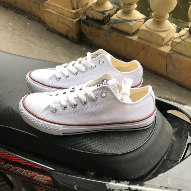[Giá Hủy Diệt] Giày Thời Trang CV Classic Màu Trắng Kèm Hộp