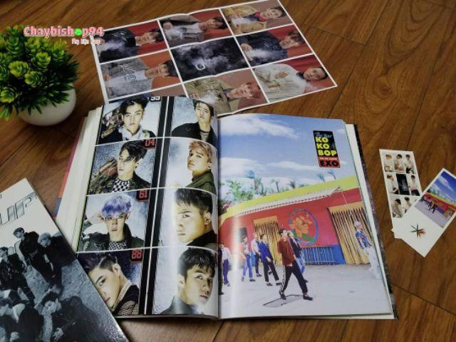 Album ảnh BTS GOT7 SEVENTEEN BLACKPINK WANNAONE EXO