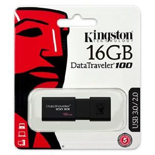 [Mã ELFLASH5 giảm 20K đơn 50K] USB Kingston 16GB 3.0 - Bảo Hành 60 Tháng Chính Hãng (SPC/FPT)