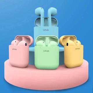 [Sale Sốc] Tai Nghe Bluetooth không dây cho IOS và Android- Tai nghe i12 TWS 5.0 có hộp sạc 1 đổi 1 trong 7 ngày