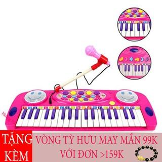 Hoàng Hà – Đàn Organ 25 Nút Có Mic Cho Bé Thỏa Thích Trổ Tài
