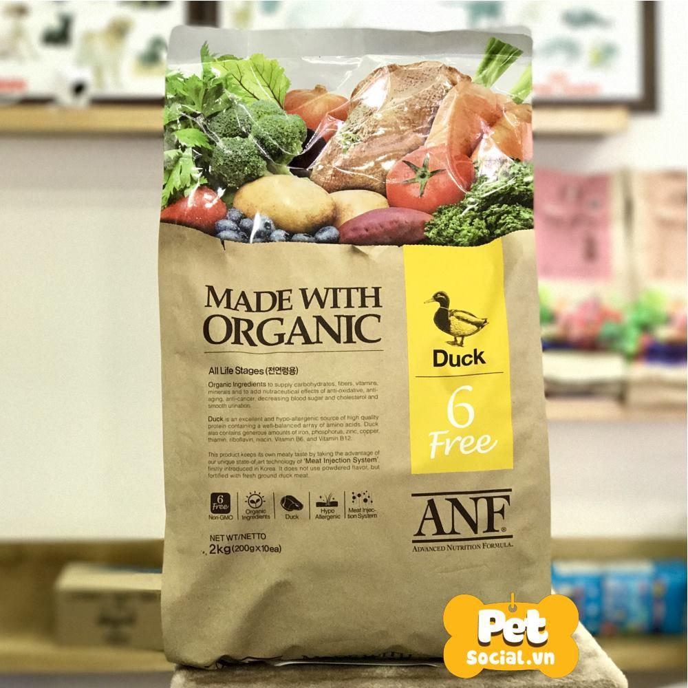 Thức Ăn Hạt Cho Chó Làm Từ Thịt Vịt ANF Dog 2Kg (6 Free Organic Duck) - 2836613 , 383077202 , 322_383077202 , 396000 , Thuc-An-Hat-Cho-Cho-Lam-Tu-Thit-Vit-ANF-Dog-2Kg-6-Free-Organic-Duck-322_383077202 , shopee.vn , Thức Ăn Hạt Cho Chó Làm Từ Thịt Vịt ANF Dog 2Kg (6 Free Organic Duck)