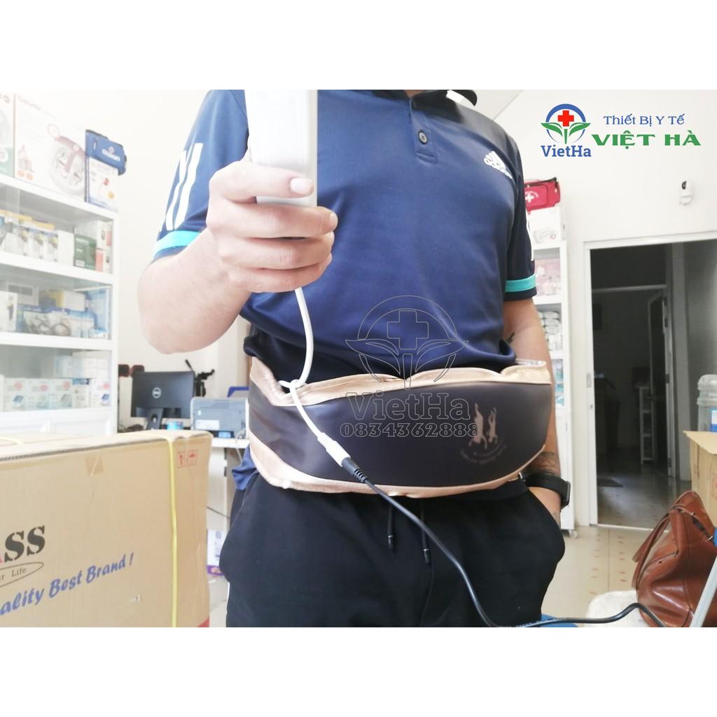 Đai Massage bụng có đèn hồng ngoại, có bảng điều khiển cầm tay  Massage Belt HW-201