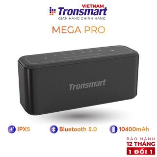 Loa Bluetooth 5.0 Tronsmart Element Mega Pro - 60W - Hỗ trợ TWS và NFC ghép đôi 2 loa - Hàng chính hãng - BH 12T 1 đổi 1