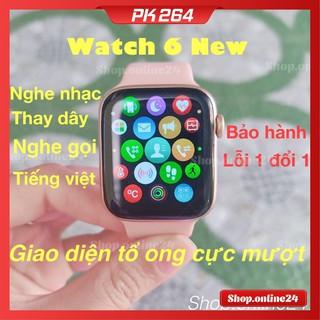 [Mã SKAMSALE8 giảm 10% đơn 200K] [Watch 6 New] Đồng Hồ Thông Minh W26, W26+ pro seri 6 Tràn Viền 44mm