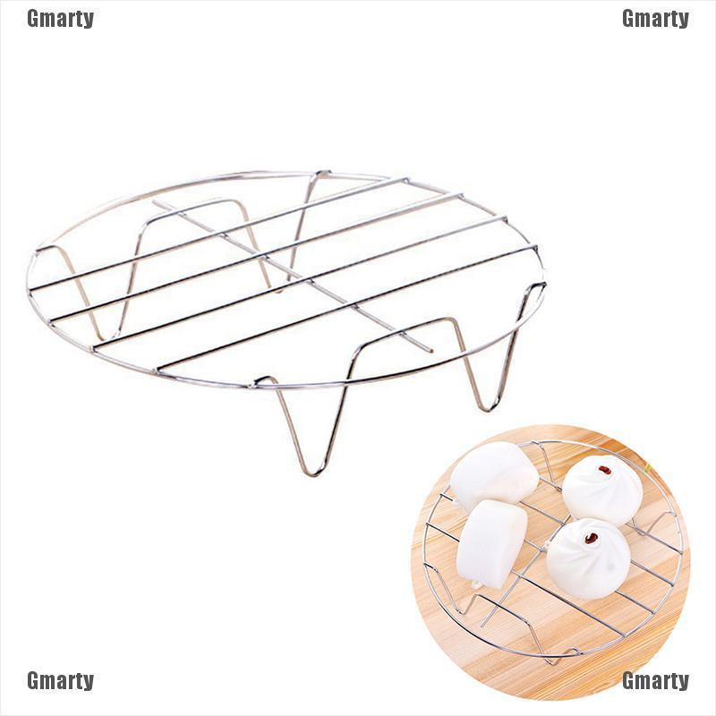 Gmarty Stainless Steel Cooling Rack Round Baking Food Kitchen Pressure Cooker Tool