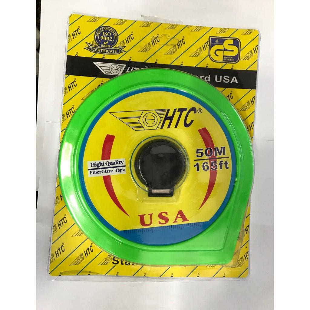 Thước Cuộn HTC 20m , 30m , 50m (Chính Hãng)