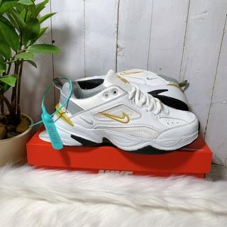 Giày sneaker nam nữ m2k-tekno chuẩn da đẹp, tặng hộp- thể thao nam nữ