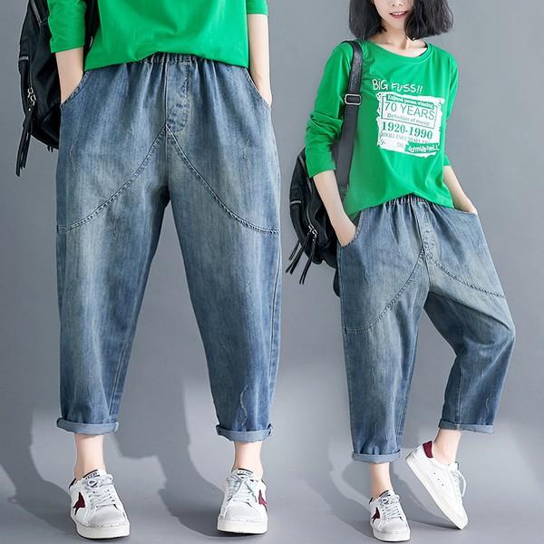 Quần Jeans Nữ Size Lớn - 22561064 , 5609452097 , 322_5609452097 , 291800 , Quan-Jeans-Nu-Size-Lon-322_5609452097 , shopee.vn , Quần Jeans Nữ Size Lớn