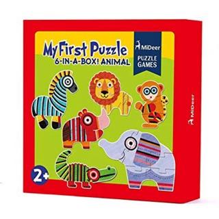 My first puzzle Animal Mideer bộ xếp hình động vật 6 hình