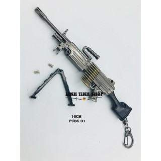 Móc khóa súng PUBG – Unknow Battle Ground (PUBG01-PUBG02).