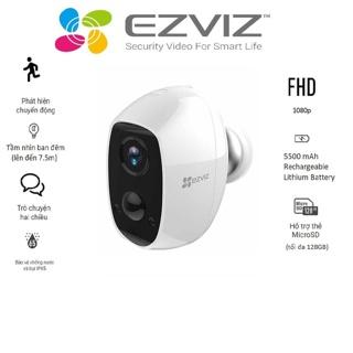 Camera wifi không dây sử dụng pin sạc Ezviz CS-C3A - Hàng chính hãng thumbnail