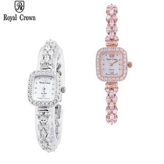 Đồng hồ nữ chính hãng Royal Crown 1514 dây đá thumbnail
