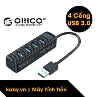 Hub USB 3.0 ORICO 4 Cổng (Đen) - Bộ Chia USB 3.0 ORICO 4 Port