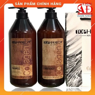 [Chính hãng] [KM] Bộ dầu gội xả Top Haneda cho tóc khô hư tổn luôn mềm mượt 785mlx2