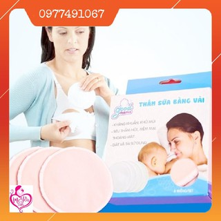 Miếng Lót Thấm Sữa Bằng Vải Good Mama (Hộp 8 Miếng) thumbnail