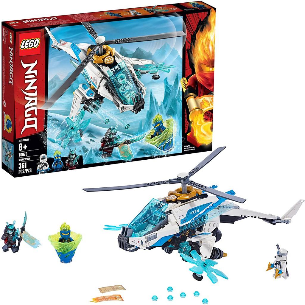 LEGO Ninjago 70673_Trực Thăng Của Zane (361 chi tiết)